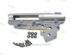 SHS 7075 CNC Aluminum 8mm Ver.3 gearbox with 6 bearings (BX0012)